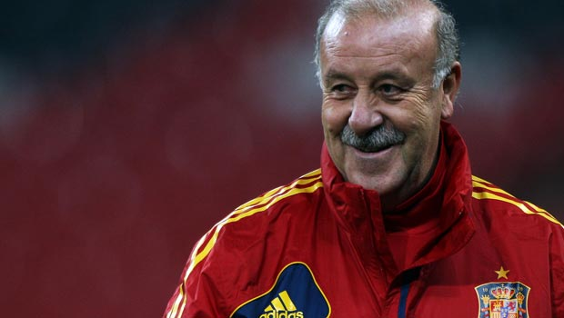 Vicente del Bosque Spain manager World Cup 2014