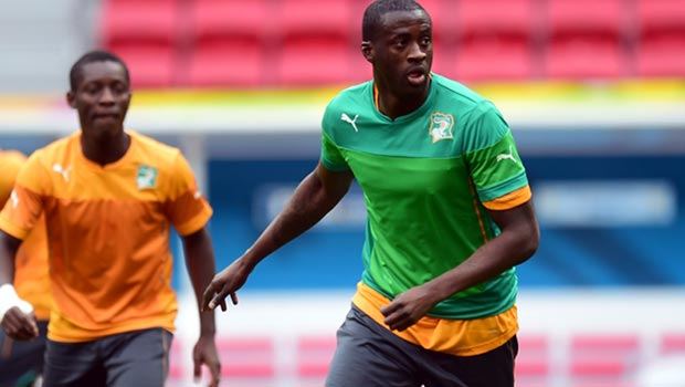 Yaya Toure Ivory Coast midfielder