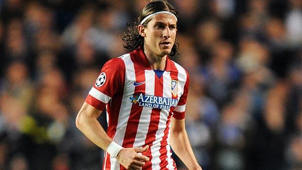 Atletico Madrid Filipe Luis