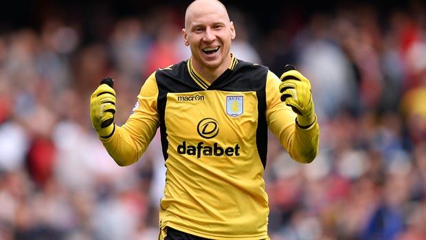 Brad Guzan Aston Villa