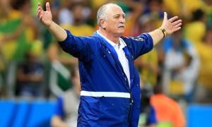 Brazil manager Luiz Felipe Scolari