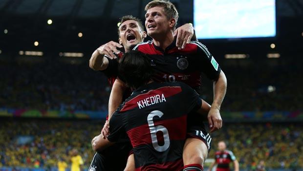 Brazil v Germany Semi Final World Cup 2014