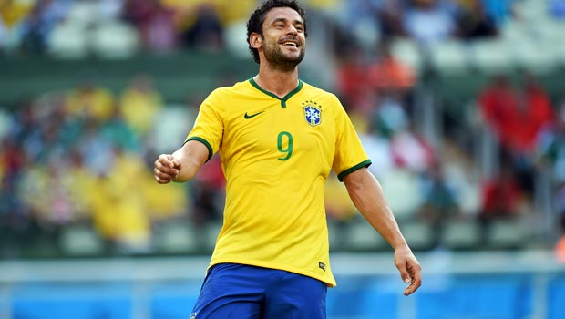 Fred Brazil World Cup 2014