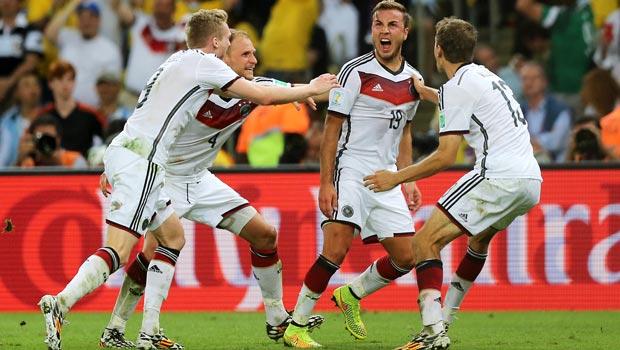 Germany Mario Gotze World Cup Finals