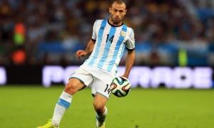 Javier Mascherano Argentina World Cup