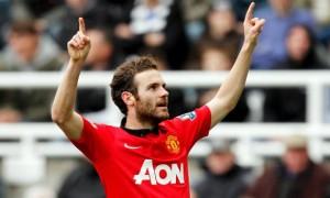 Juan Mata Manchester United midfielder