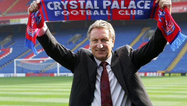 Crystal Palace new manager Neil Warnock