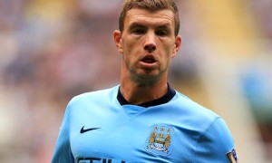 Edin Dzeko Man City