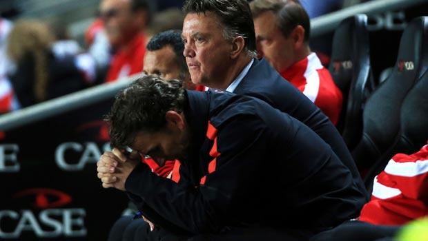 Louis van Gaal Manchester United v MK Dons