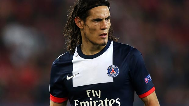 Edinson Cavani Paris Saint Germain