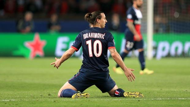 Zlatan Ibrahimovic Paris Saint Germain