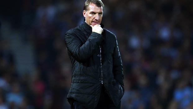 Brendan Rodgers Liverpool v West Ham