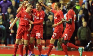 Liverpool v Middlesbrough Capital One Cup