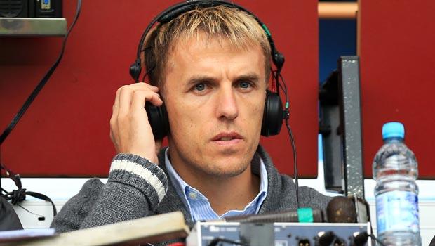 Phil Neville Former Manchester United