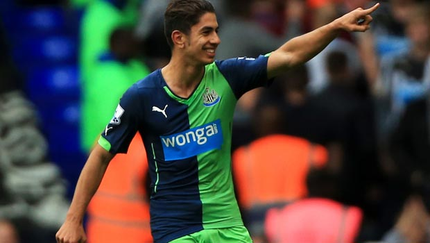 Ayoze Perez Newcastle United striker