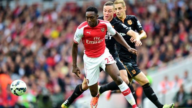 Danny Welbeck Arsenal v Hull City