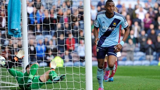Diafra Sakho West Ham United v Burnley