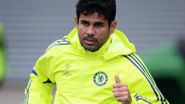 Diego Costa Chelsea v Sporting Lisbon