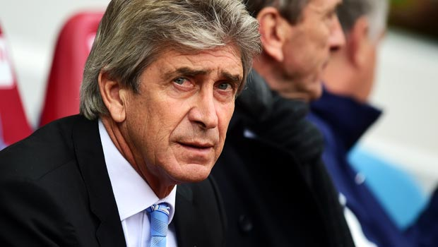 Man City manager Manuel Pellegrini