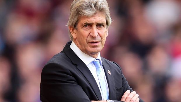 Manuel Pellegrini Man City manager