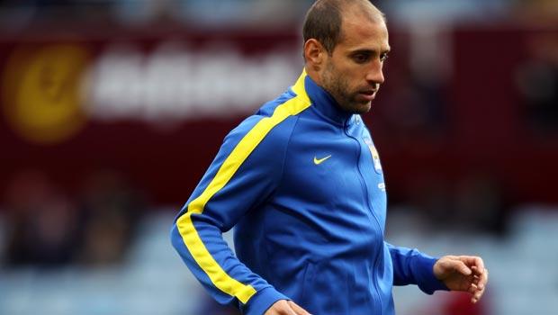 Pablo Zabaleta Man City