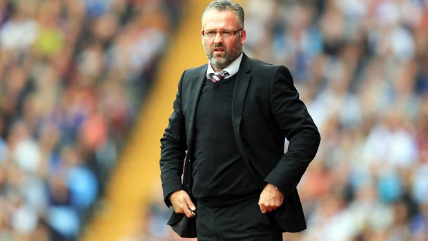 Paul Lambert Aston Villa boss