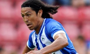 Roger Espinoza Wigan Athletic