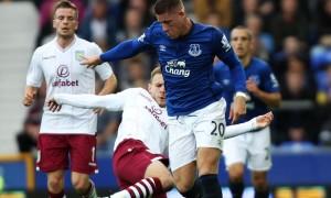 Ross Barkley Everton v Aston Villa