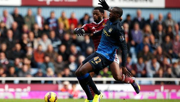 Yaya Toure Manchester-City Midfielder
