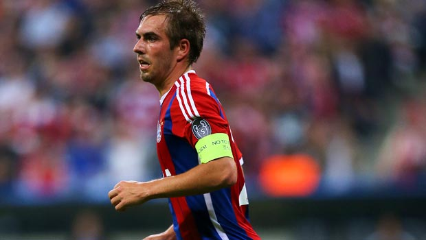 Bayern-Munich captain Philipp Lahm