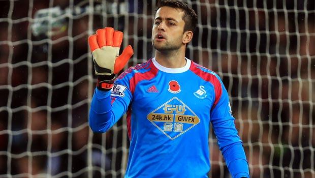 Lukasz Fabianski Swansea City goalkeeper