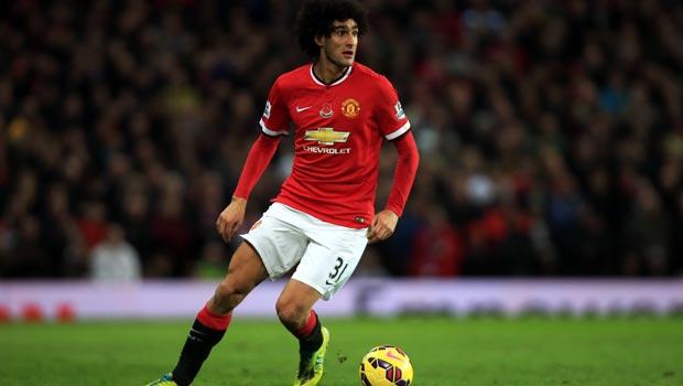 Marouane Fellaini Man United midfielder