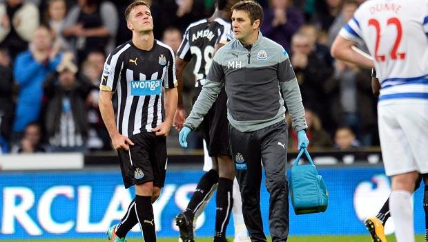 Ryan Taylor Newcastle v QPR