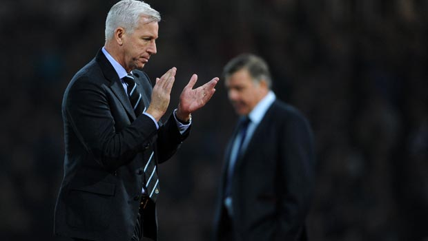 Alan Pardew Newcastle United v West Ham United