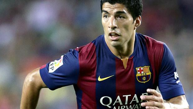 Tiền đạo Barcelona Luis Suar