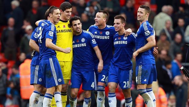 Chelsea keeper Thibaut Courtois