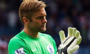 QPR goalkeeper Rob Green