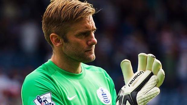 QPR goalkeeper Rob Green