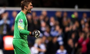 QPR goalkeeper Robert Green
