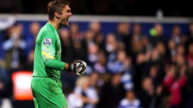 QPR goalkeeper Robert Green