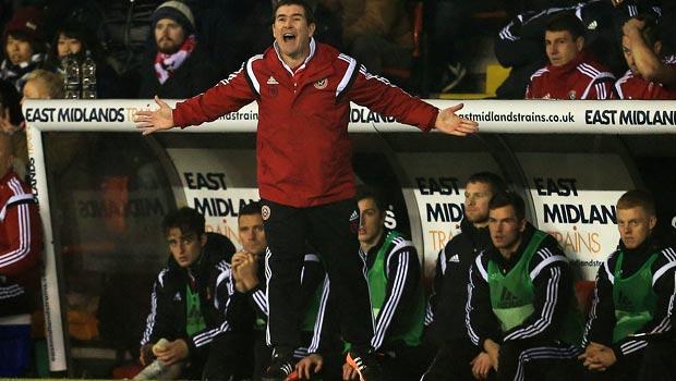 HLV Sheffield United Nigel Clough