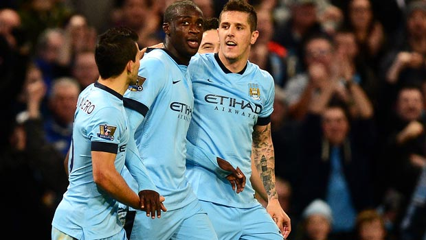 Yaya Toure Man City Midfielder
