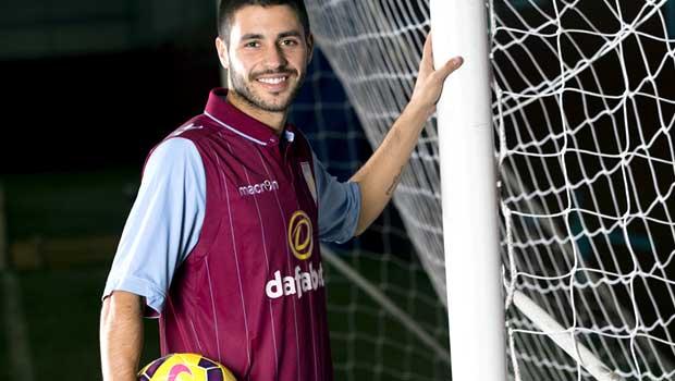 Carles Gil Aston Villa