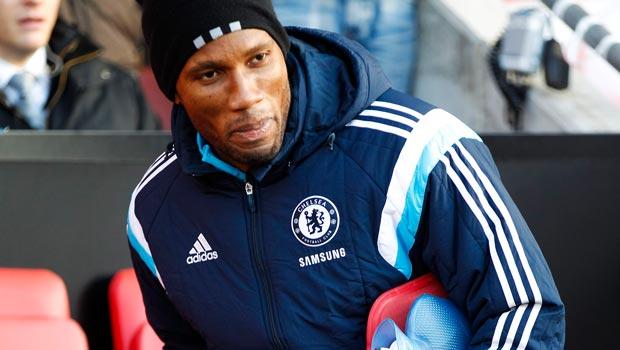 Tiền đạo Chelsea Didier Drogba