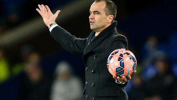 HLV Everton Roberto Martinez