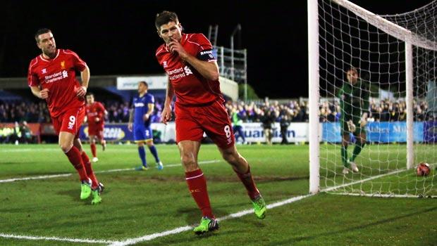 Liverpool đội trưởng Steven-Gerrard FA Cup