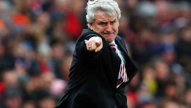 HLV Stoke City Mark Hughes