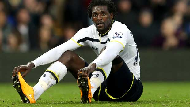 Tottenham Hotspur Emmanuel Adebayor Dafabet Keo Bong Da