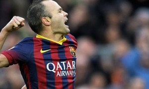 Ngôi sao Barcelona Andres Iniesta