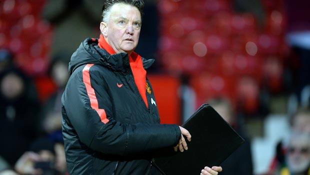 Louis van Gaal Man United